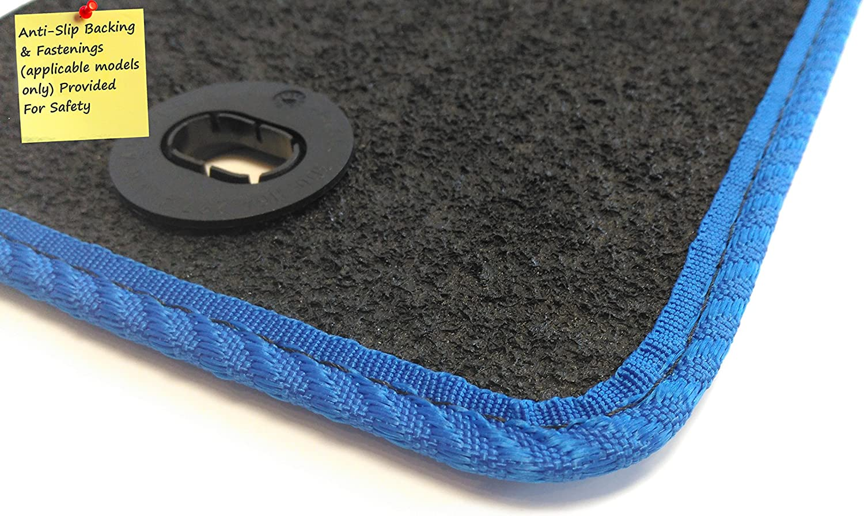 Connected Essentials CEM650 Car Mat Set for SX4 Grey with Red Trim Premium 2013