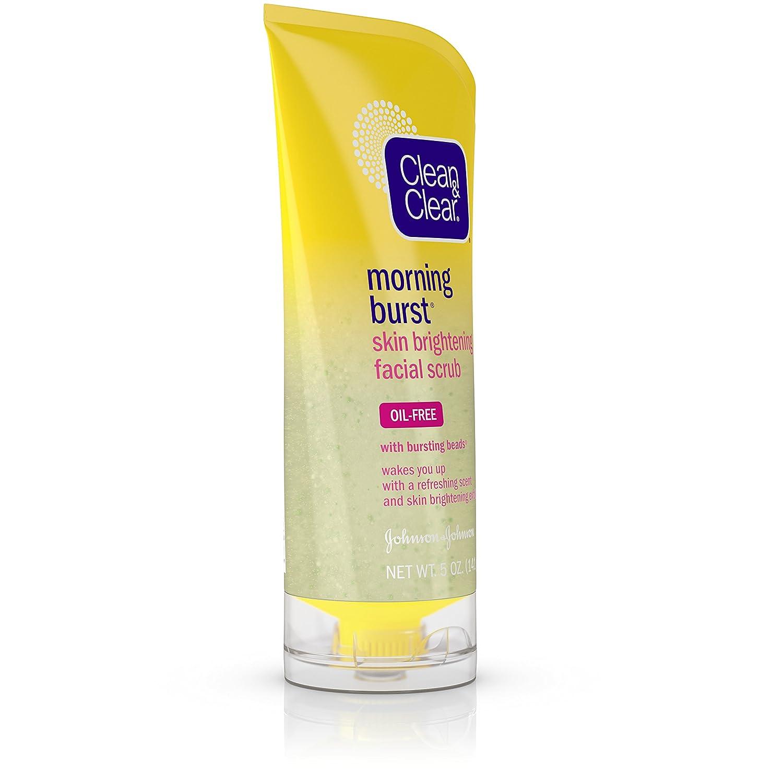 Clean Clear Morning Burst Skin Brightening Facial Lightening Scrub For 5 Oz Beauty