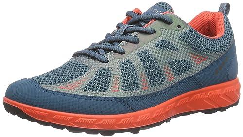 ECCO Terratrail       Womens Multisport Outdoor Shoes       Petrol Petrol Coral Blush        35