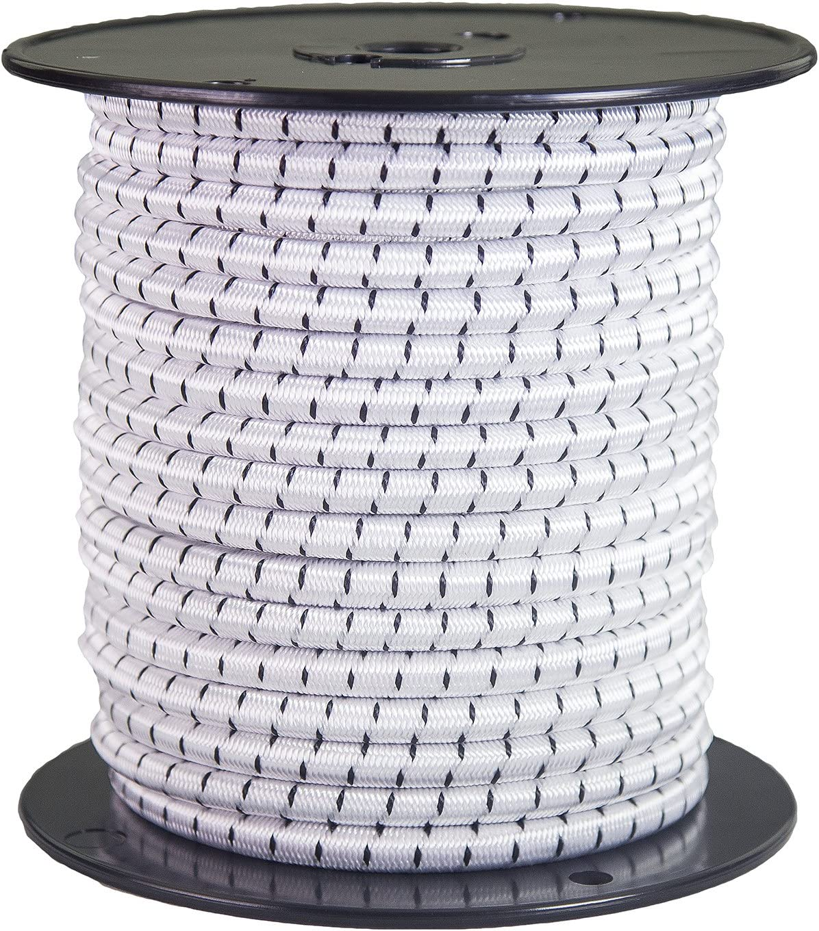 Customize with FMS Shock Cord Hooks and More Tie Downs Heavy Duty Bungy Cordage in Multiple Diameters and Lengths for DIY Projects Ravenox Elastic Shock Bungee Cord   5//16-in x 500 FT
