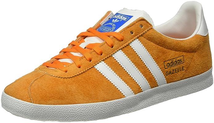 orange adidas gazelle