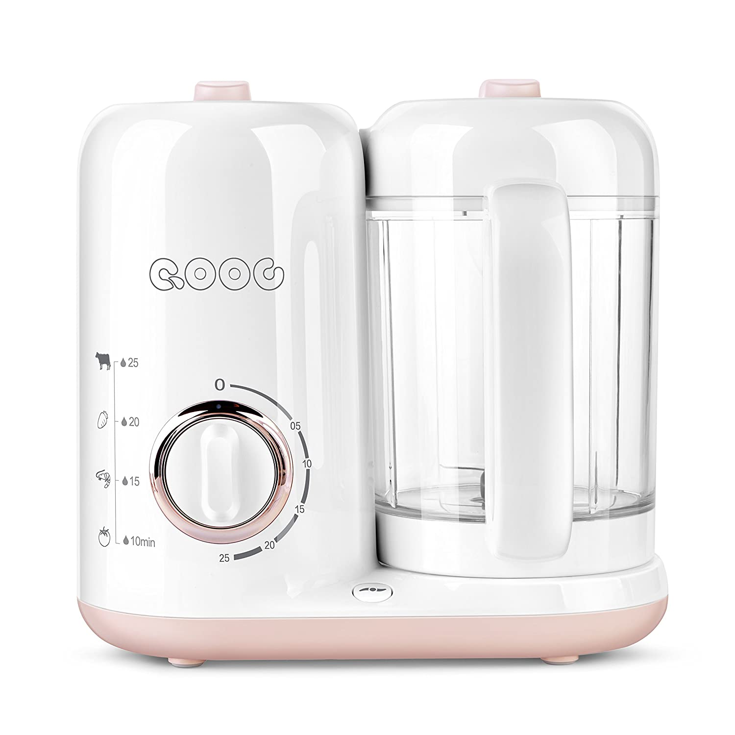 QOOC 4-in-1 Baby Food Maker Pro Q7