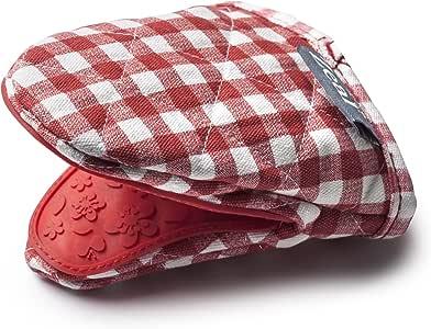 Zeal Cuadros Mini Guante manopla, algodón, Rojo, 17,5 x 13,5 x 2,5 ...