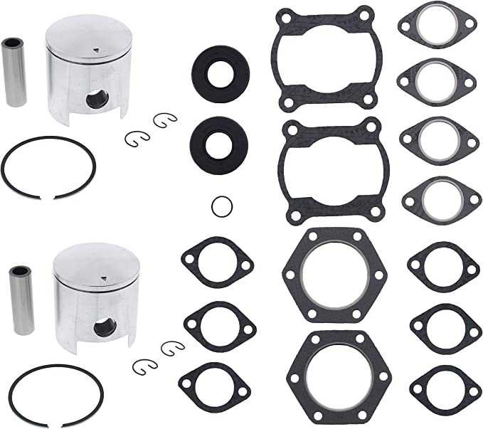 1999-2008 Polaris Indy 340 Piston and Gasket Kit Snowmobile by Race-Driven