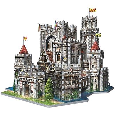 Wrebbit 3D King Arthur's Camelot 3D Puzzle (865-Piece): Toys & Games