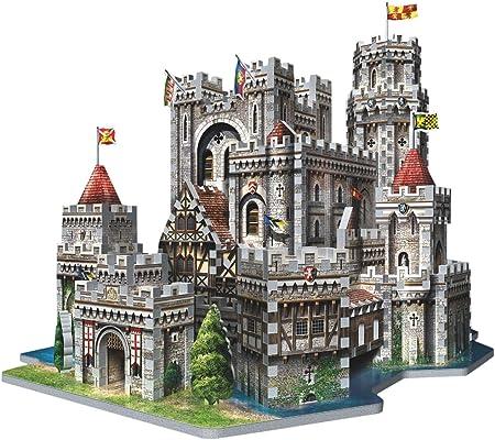 Wrebbit - Puzzle en 3D de Camelot del Rey Arturo (865 Piezas): Amazon.es: Juguetes y juegos