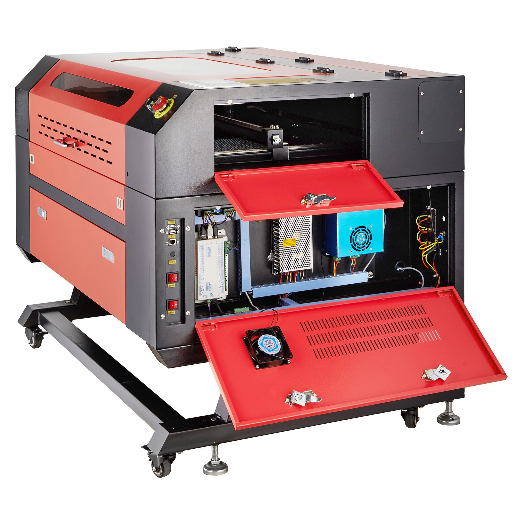 Orion Motor Tech 60W 110V CO2 Laser Engraving Machine Laser Engraver