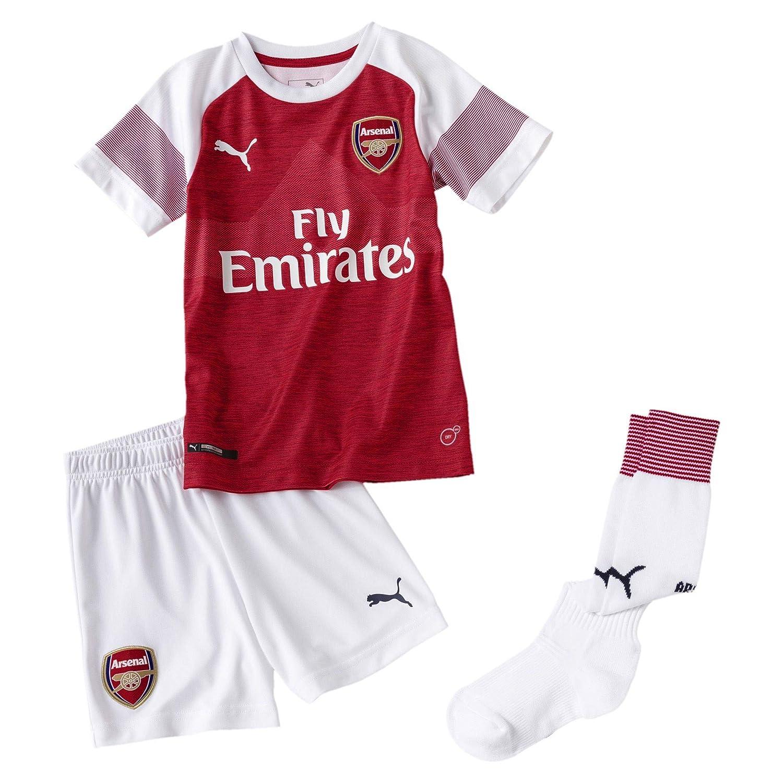 Puma Boys Arsenal Home Mini Kit 2018 2019 75322612