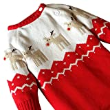 3c201c782 Galleon - ZOEREA Baby Infant Romper Sweater Christmas Knitted ...