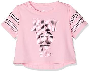 ed84f4831 Nike Girls' Crop JDI T-Shirt: Amazon.co.uk: Sports & Outdoors