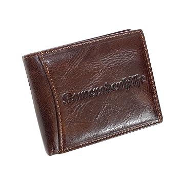 e9677b7a6e8f9 Traditions Börse Kameradenhilfe - Herren Querformat Geldbeutel Herren- Geldbörse Portemonnaie Lederbörse echtes Leder - (