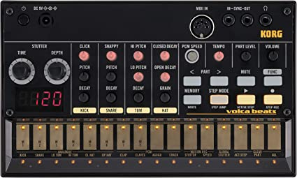 Korg Volca Beats - Sintetizador y caja de ritmos: Amazon.es ...