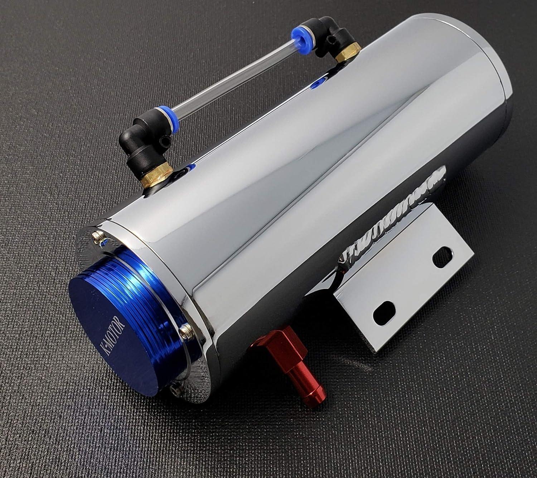 K-Motor Performance Aluminum Overflow Coolant Reservoir Tank Cooling For Radiator Water 500ML