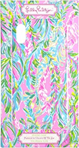 Lilly Pulitzer Cute Pink/Blue/Green iPhone X/XS Case for Women, Unicorn of The Sea