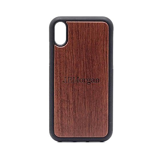 Amazon com: Logo JP-Morgan - iPhone XR Case - Rosewood