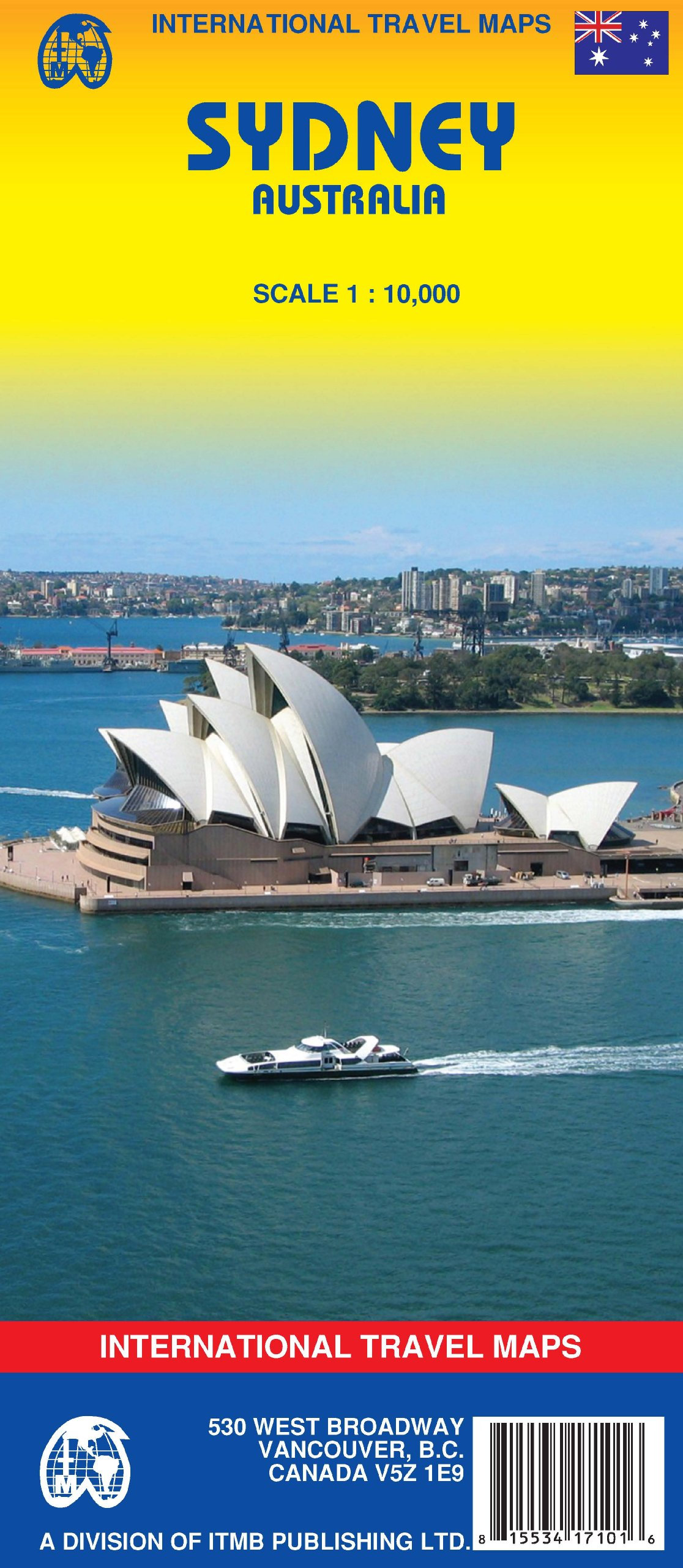 Download Sydney (Australia) 1:10,000 Street Map (International Travel Maps) pdf epub