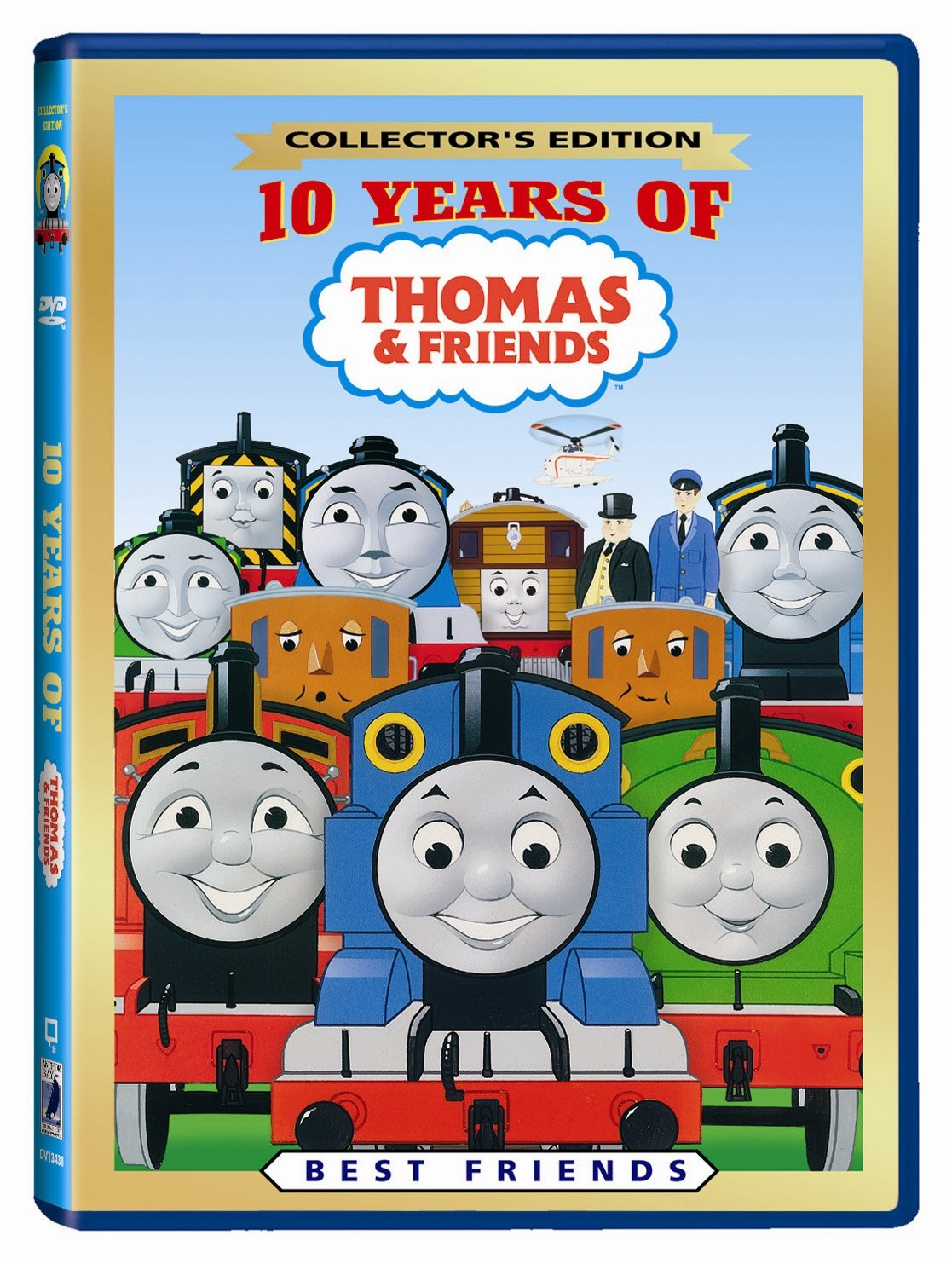amazon com 10 years of thomas friends best friends george