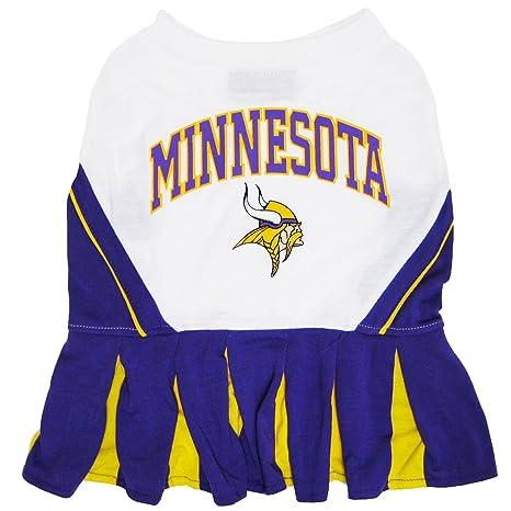 f5580db7045 Amazon.com : Minnesota Vikings NFL Cheerleader Dress For Dogs - Size ...