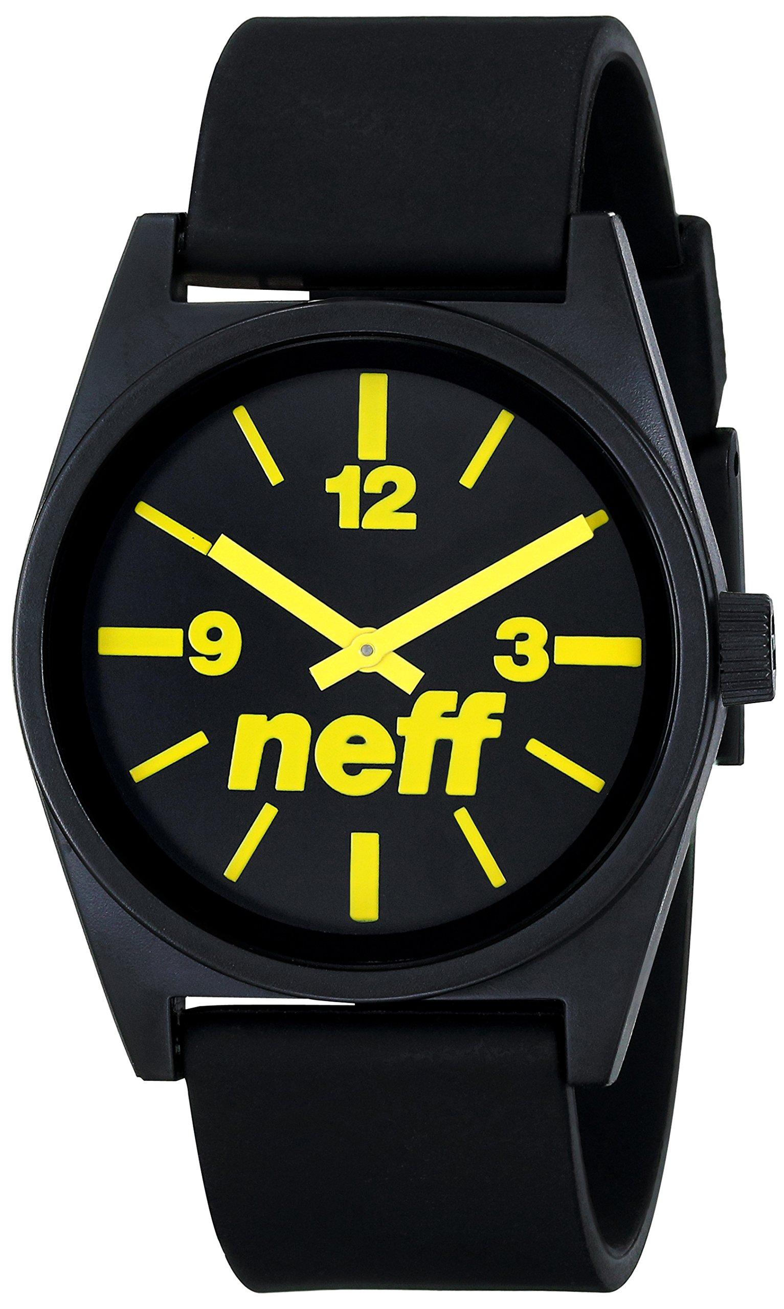 Neff Daily Analog Watches - Quartz Movement Waterproof Watch - Sport Watches for Men & Women