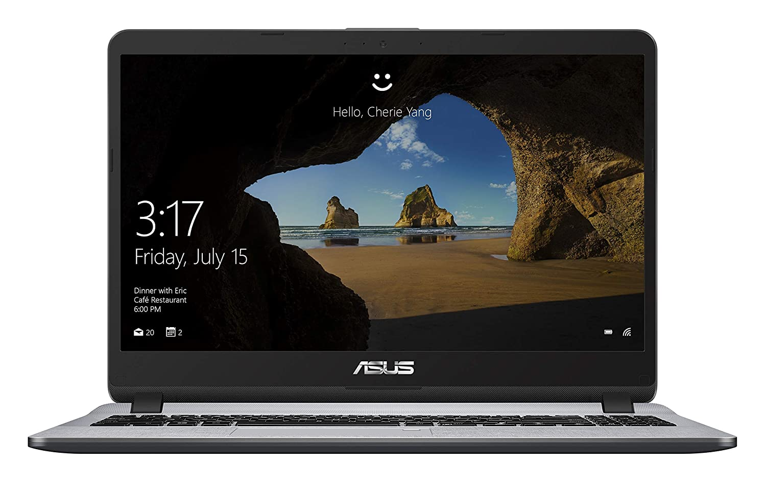 ASUS X507   Core i3  7th Gen/4  GB/1TB HDD / 15.6  FHD/ Windows 10/ 2 GB MX110   Thin and Light X507UB  EJ307T   Stary Grey /1.6 kg  Laptops