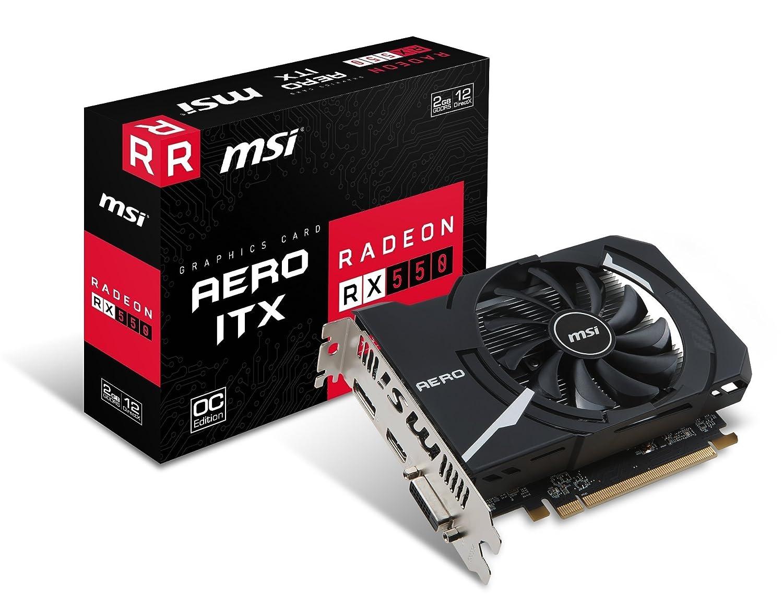 MSI Radeon RX AERO ITX G OC Tarjeta gráfica GB GDDR