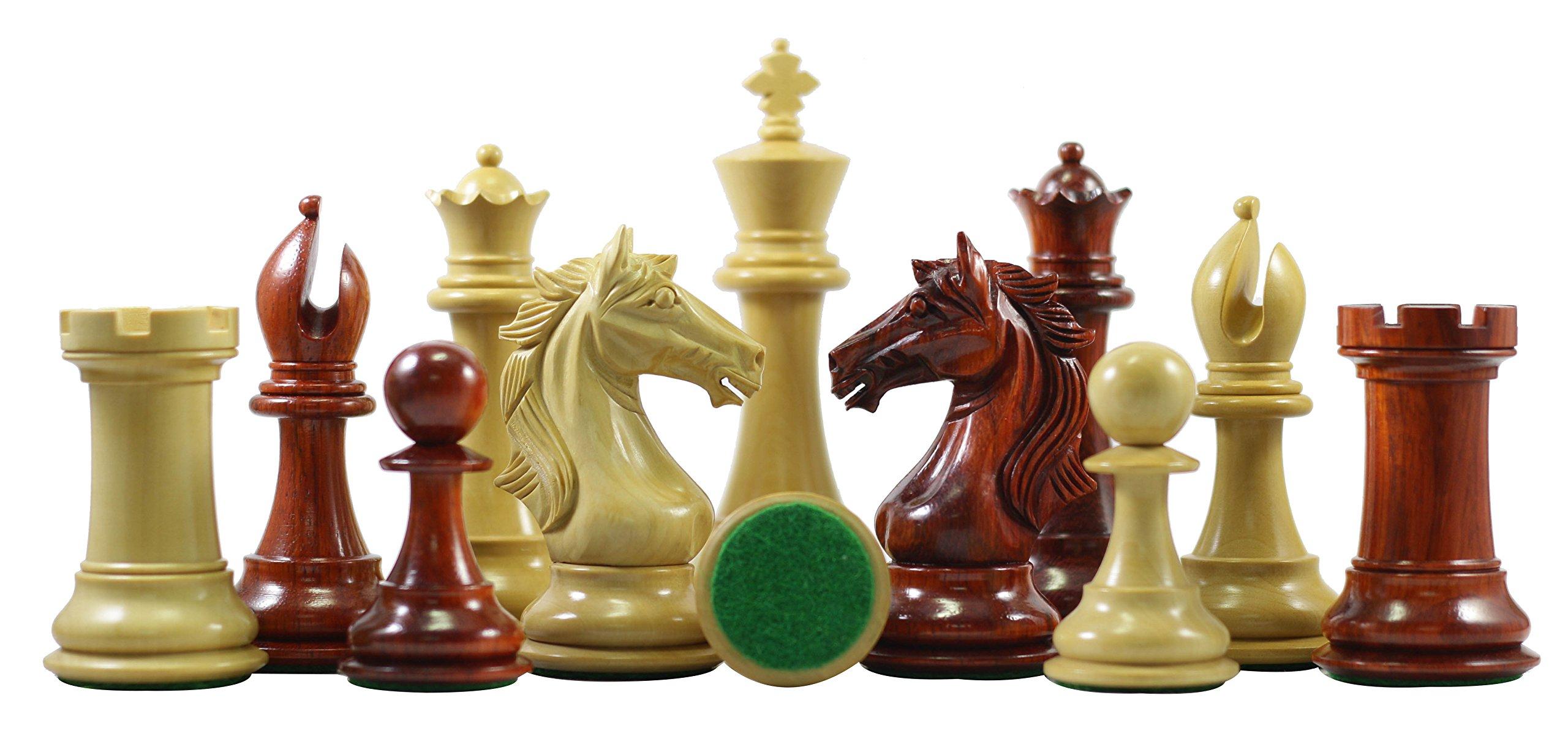 Elite Series Premium Staunton 4'' Chess Set by Staunton Empire (Image #3)