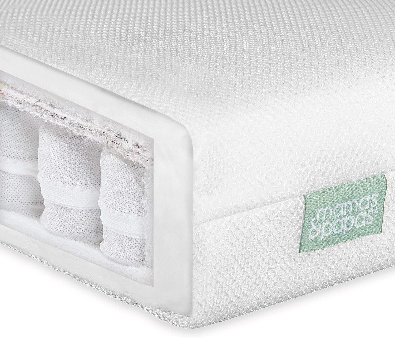 Nursery Furniture Mamas /& Papas Baby Premium Pocket Spring Mattress for Cot 120 x 60 x 10cm