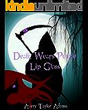 Death Wears Purple Lip Gloss: A New Adult Lesbian Romance (Fabulous Death Book 1)