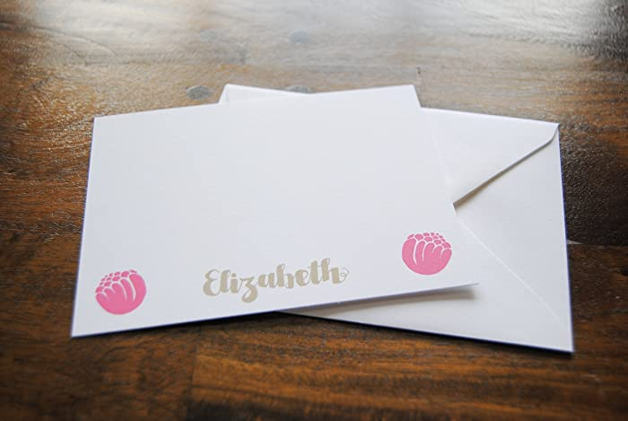 personalized notecards elizabeth personalized stationery cards custom stationery note cards personalized - Personalized Stationery Cards