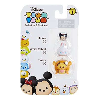 Tsum Tsum 3-Pack Figures: Tigger/White Rabbit/Mickey: Toys & Games