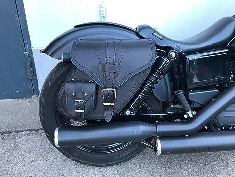Dynamite - Borsa per sella di Orletanos Harley Davidson Streetbob Sportster  Glide HD f6ba6349f4e