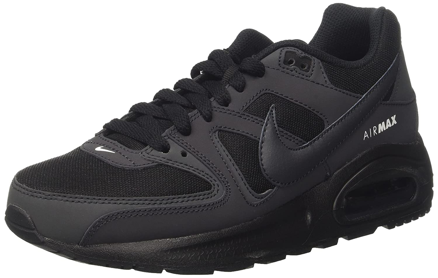 new product a537e fdb87 Amazon.com   NIKE - Air Max Command Flex GS Kids Running Shoes, Black Size  6 Youth   Shoes