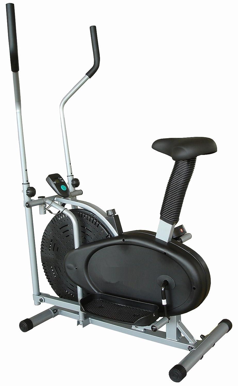 XS Sports 2-en-1 elíptica de la bicicleta estática-Fitness Cardio Pérdida de peso entrenamiento Máquina-Con Asiento + ordenador: Amazon.es: Deportes y aire ...