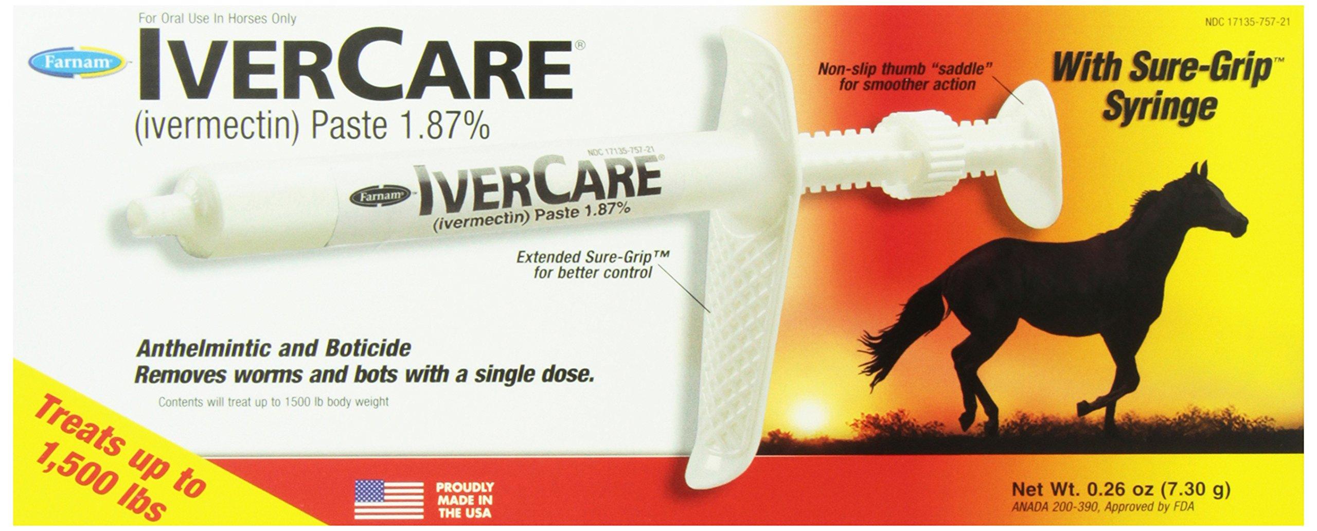 Farnam Ivercare Dewormer Paste, 6-Pack