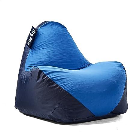 Superb Big Joe 1180286 Warp Bean Bag Navy Blue Frankydiablos Diy Chair Ideas Frankydiabloscom