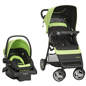 Amazon Cosco Simple Fold Travel System With Light N Comfy