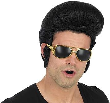 Fun Shack Adult Pop King Elvis Wig  Funshack  Amazon.co.uk  Toys   Games ac3e0f557082
