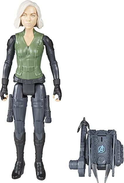 Avengers Marvel Infinity War Titan Hero Series Black Widow with Titan Hero