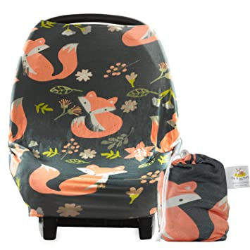 Multi-use Baby Car Seat Cover Canopy and Nursing Cover Breathable Universal Fit Unisex  sc 1 st  Amazon.com & Amazon.com: Multi-use Baby Car Seat Cover Canopy and Nursing Cover ...