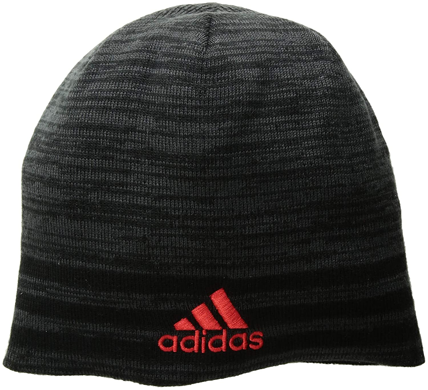 edca36866a3b8 Amazon.com  adidas Men s Eclipse Reversible Beanie