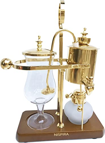 Nispira Belgian Belgium Luxury Royal Family Balance Syphon Siphon Coffee Maker