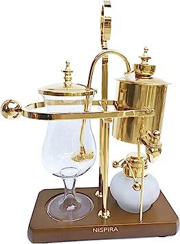 Nispira Belgian Belgium Luxury Royal Family Balance Syphon Siphon Coffee Maker