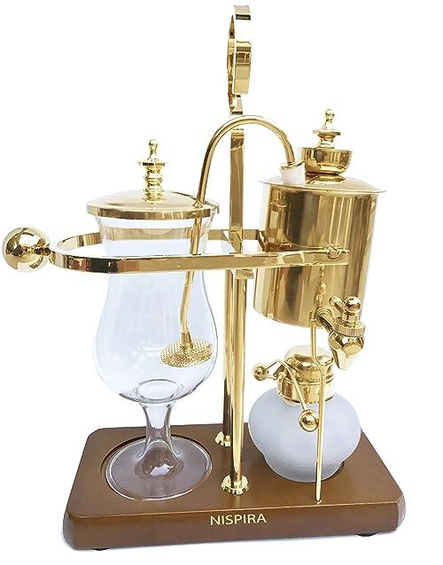 NISPIRA-Belgian-Luxury-Family-Balance Siphon Coffee Maker