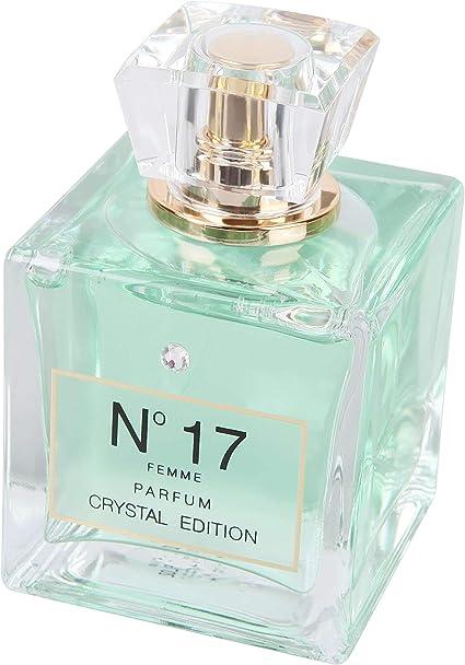 JACQUES BATTINI N°17 Crystal Edition - Perfume para mujer: Amazon.es: Belleza