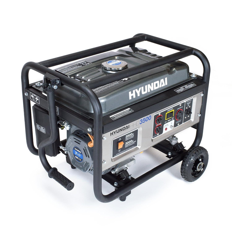 Amazon Hyundai HHD3500CA Gas Powered Generator Hyundai