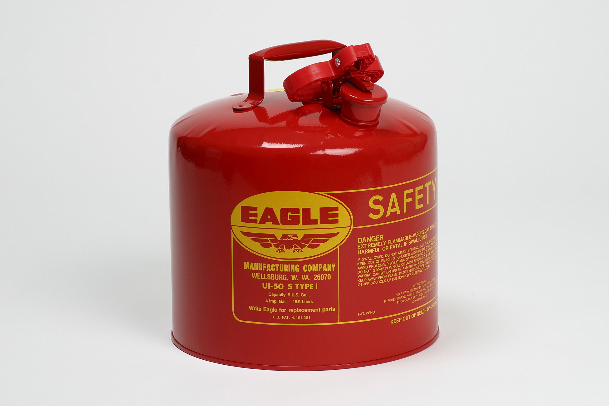 Type l Safety Cans - 5 gal safety can ul & fmapproved
