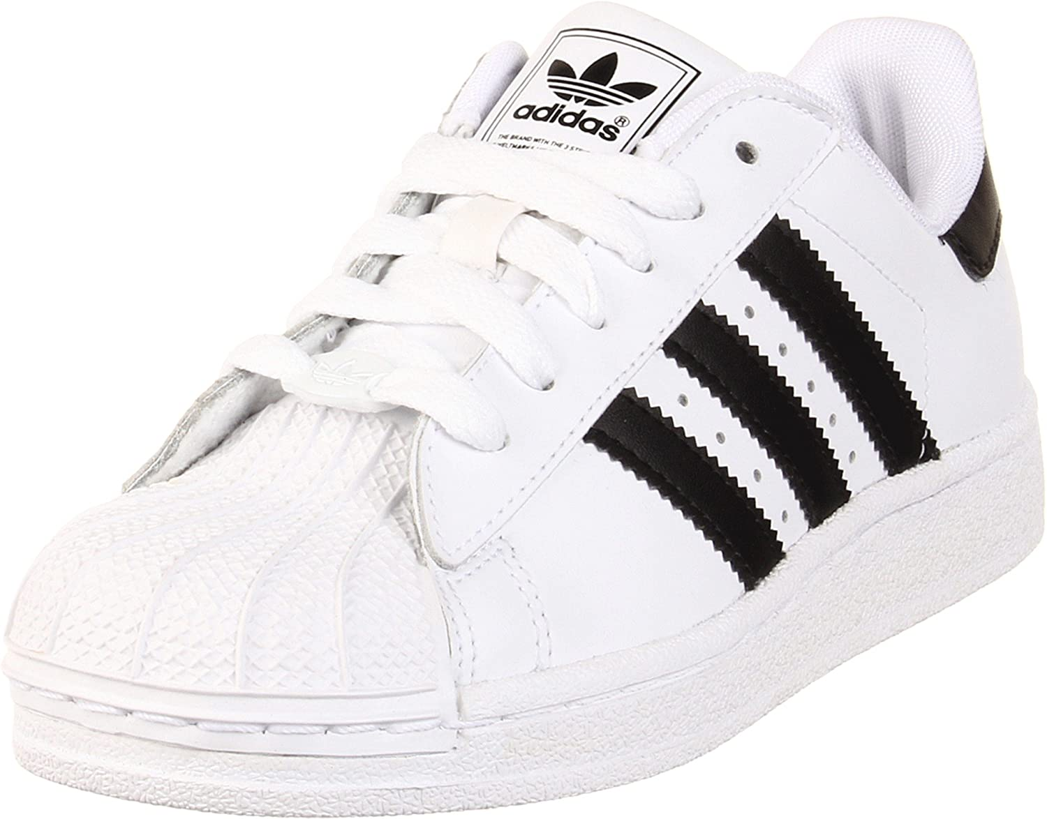 adidas superstar ii white black size 7