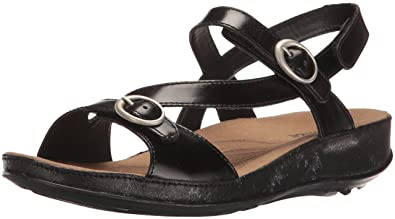 Romika Womens Fidschi 48 Dress Sandal Black Size 90