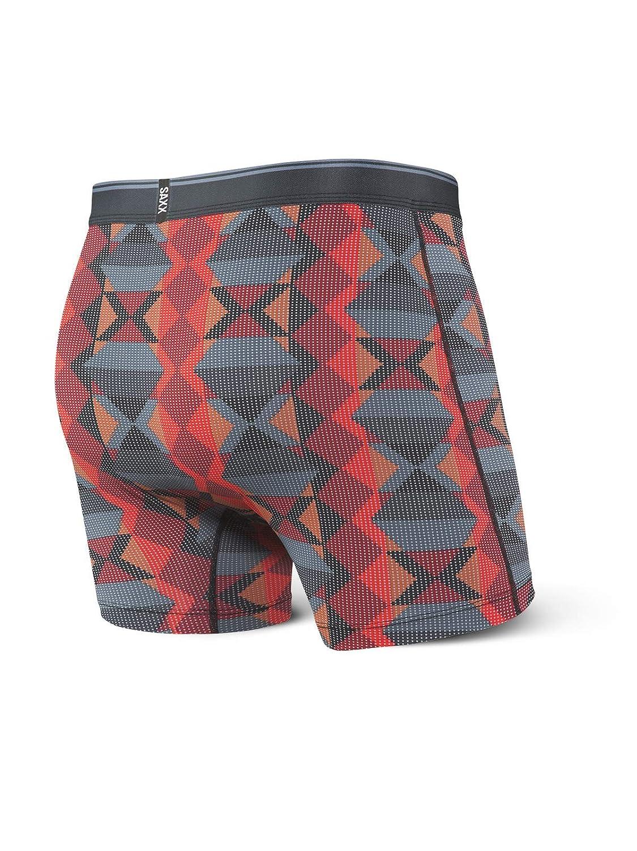 Saxx Underwear Mens Quest 2.0 5 Boxer Brief Fly with Ballpark Pouch