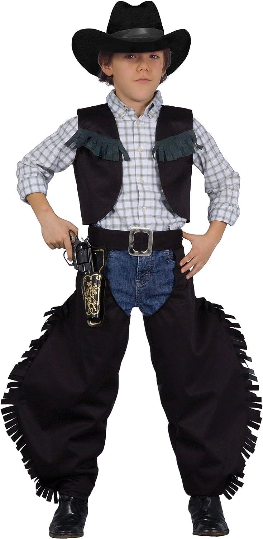 FIORI PAOLO – Vaquero Pistolero negro disfraz niño M (5-7 anni ...